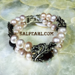 Gelang Mutiara potato light purple